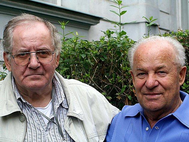 Zleva: Eduard Krutiš a František Bartoň.