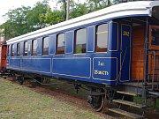 Pojízdné muzeum československých legií má do neděle zastávku ve Znojmě.