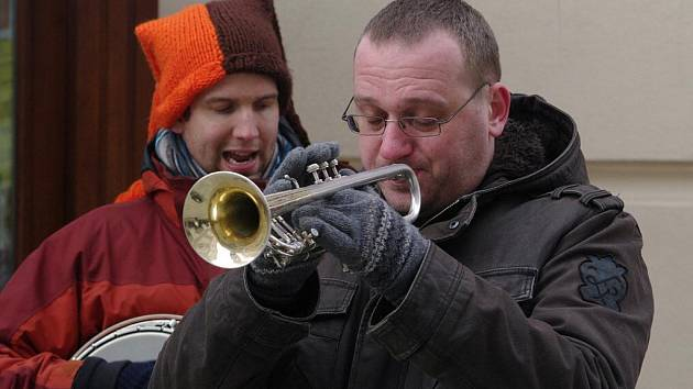 Tradiční zmrzlý jazz na Obrokové.