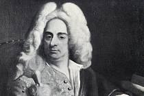 Portrét Johanna Bernahrda Fischera z Erlachu od Ádáma Mániokiho.
