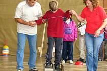 Blížkovičtí školáci zažili první dyslektickou olympiádu.