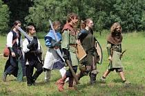 Fanoučci Tolkienova fantastického světa v údolí říčky Rokytné poblíž Rozkoše na Jevišovicku.