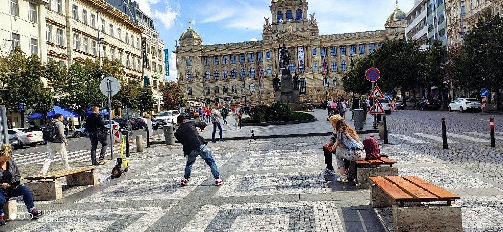 Zářijové procházky Prahou.
