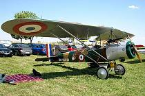 Na miroslavské letiště AirCon Fly se v sobotu slétaly ultralighty.