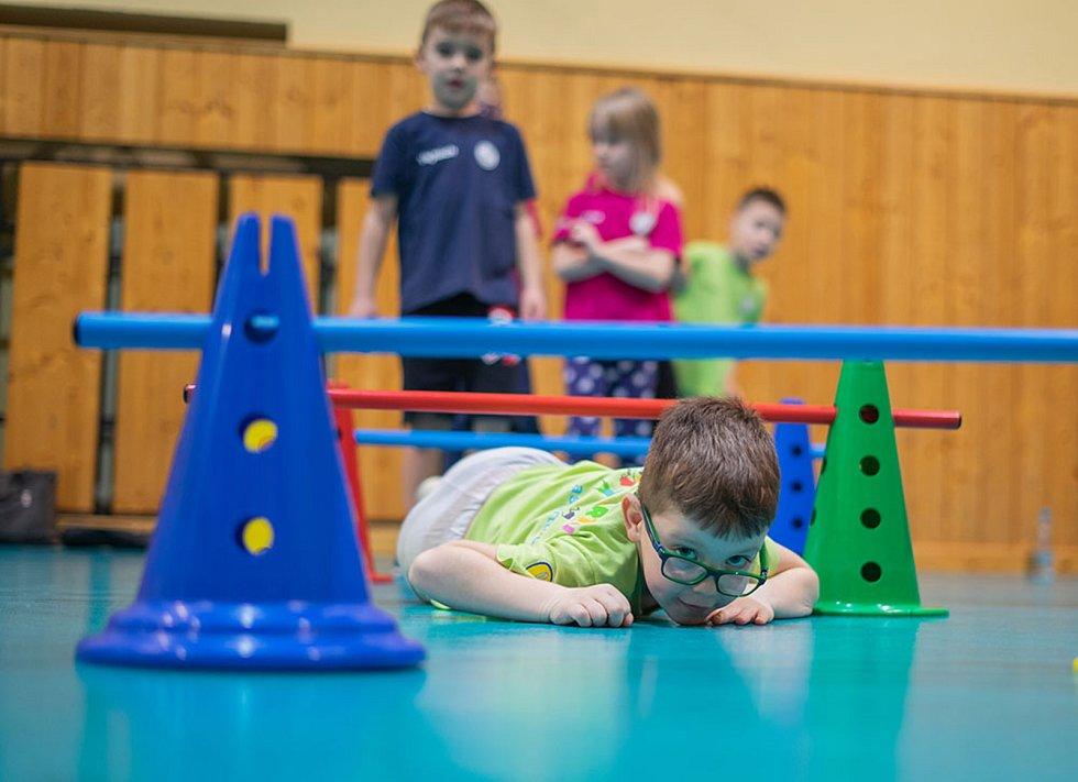 Celorepublikový projekt Děti na startu přivedl už k pohybu za sedm let své existence téměř 9 000 dětí.