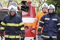 Největší požární cvičení za posledních pětadvacet let měli hasiči ze Znojemska na hradě Bítov. Simulovaný oheň vzplanul v historické kuchyni severního křídla, která se občas využívá k ukázkám středověkého vaření.