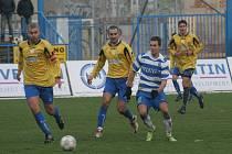 MSFL 2009/10: 1. SC  Znojmo (v pruhovaném) vs. MSK Břeclav