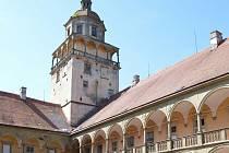 Zahájení oprav zámku v Moravském Krumlově.