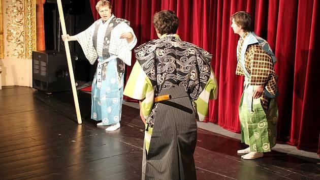 Zimní Šramlfest 2011 ve Znojmě: Malé divadlo kjógenu.