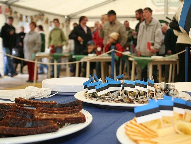 Druhý den festivalového Hroznu pokračoval Národním dnem Estonska