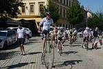 Peloton cyklistů dorazil do cíle