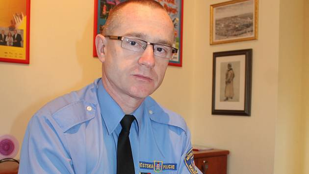 Šéf krumlovských strážníků Rudolf Fráňa.