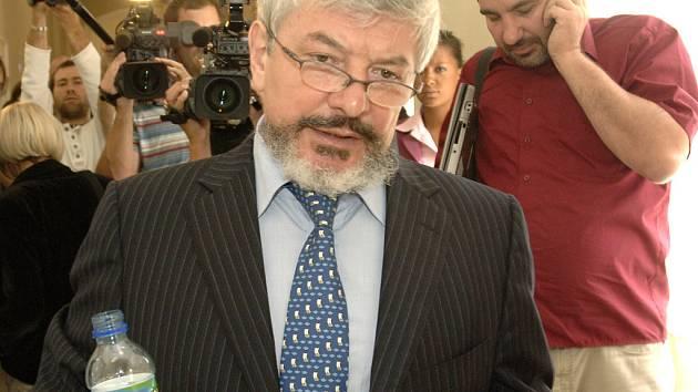 Vladimír Železný před pražským soudem
