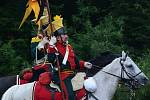 V sobotu svedli vojáci rekonstrukci bitvy u Znojma, jež byla součástí napoleonských válek.