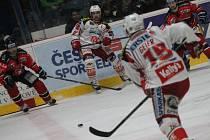 Znojmo v prvním zápase čtvrtfinále play-off prohrálo s Klagenfurtem 4:5.