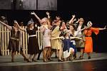 Televizní Kabaret u dobré pohody sehráli v pátek premiérově herci znojemského Divadelního studia Martiny Výhodové. Slidili bouřlivý potlesk.