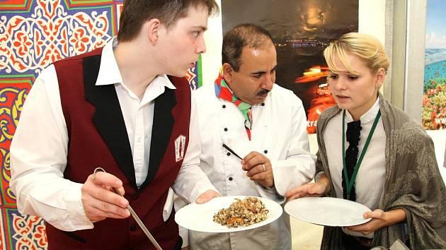 Znojemský hrozen nabídl také egyptskou kuchyni.