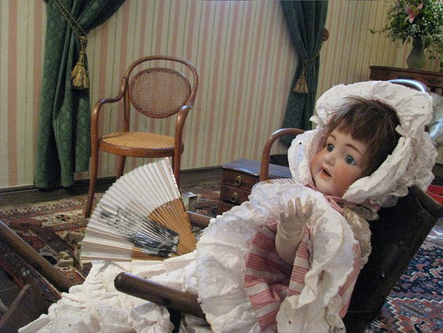 Výstava Dítě na šlechtickém sídle na vranovském zámku