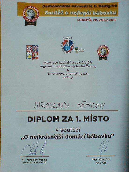 Bábovka maxijedlíka Jaroslava Němce.