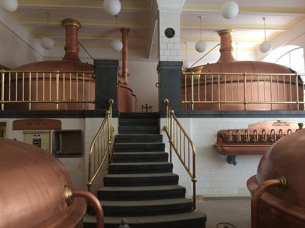 O úspěch v soutěži o nejlépe opravenou památku v kraji usiluje i opravená historická varna znojemského pivovaru s expozicí pivovarnictví.
