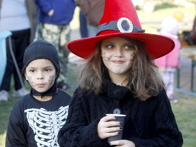 Hodonické a Tasovické děti se bavily při oslavách Halloweenu.