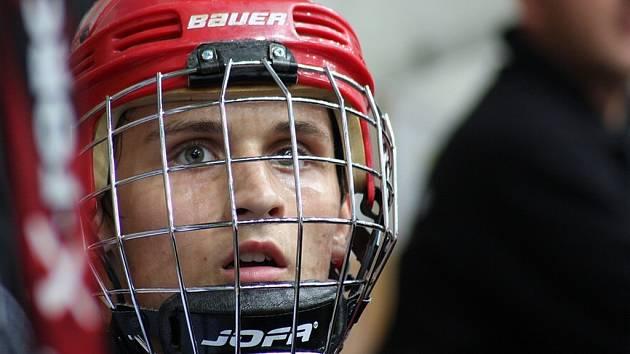 Hokejový junior Adam Havlík