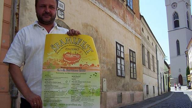 Organizátor Šramlfestu Ivo Bílek
