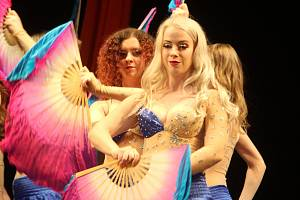 Znojemské divadlo zažilo 14. Přehlídku orientálních tanců.