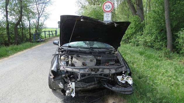 Podle policistů byla příčinou nehody neopatrná jízda.