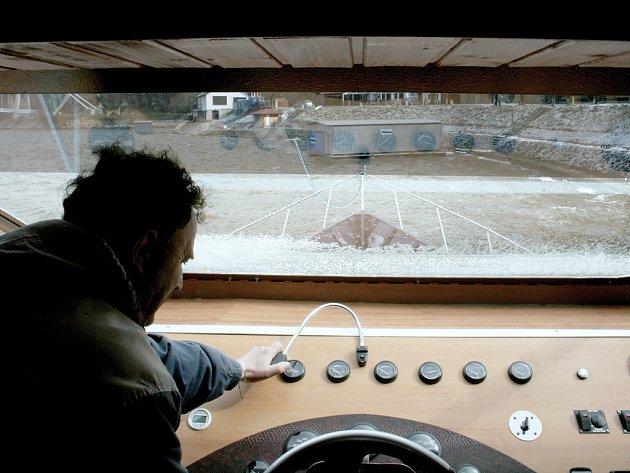 Lodě na vranovské přehradě se připravují na novou sezonu
