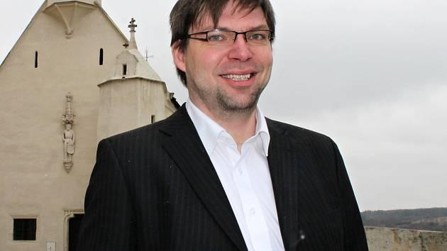 Dnes už bývalý šéf Občanské demokratické strany ve Znojmě Pavel Kovařík.