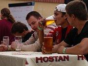 Slavnosti piva Hostan mají za sebou první noc