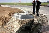Šatov má systém proti přívalovým dešťům.