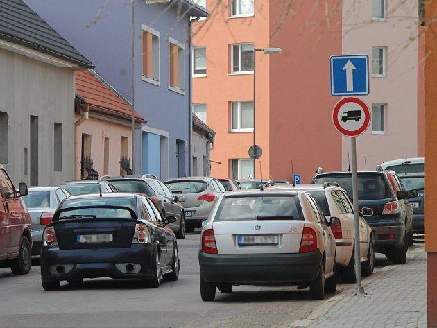 Znojemská ulice Krátká je nově jednosměrná.