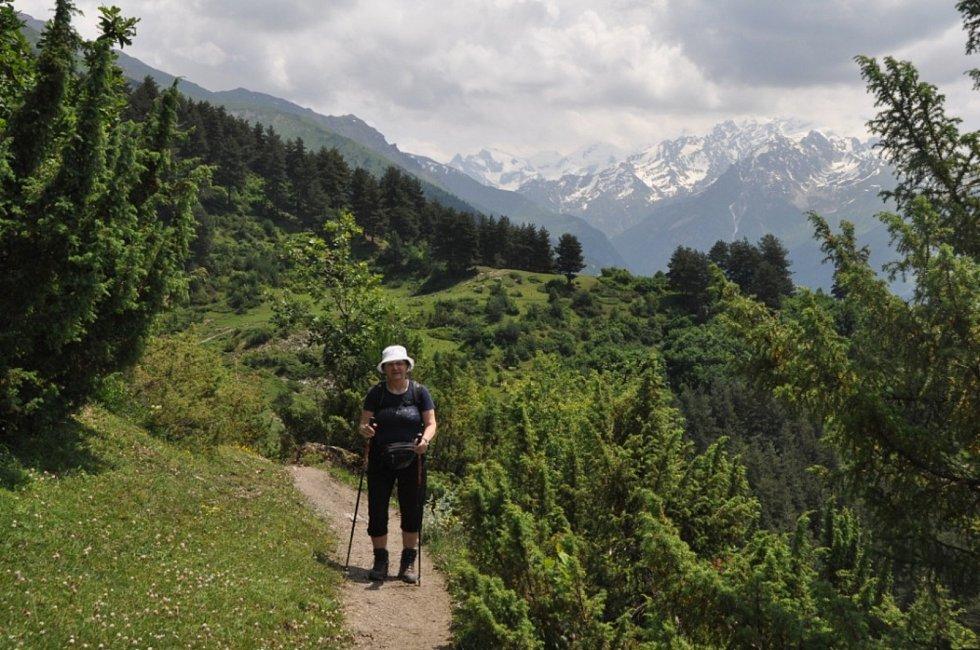 Vzpomínka na cestu do gruzínské Svanetie.