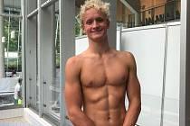 Plavec Adam Hlobeň překonal v Budapešti rekord Květoslava Svobody