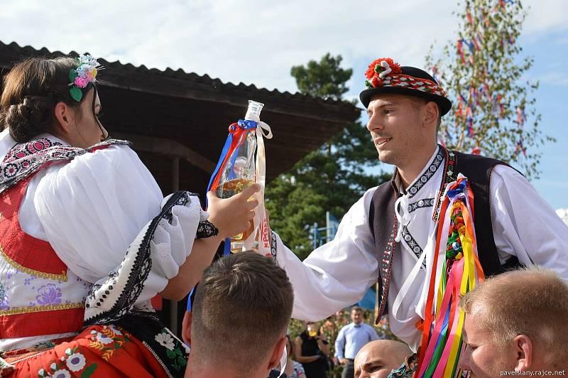 Vedrovické Rozmarýnové hody se uskutečnily v sobotu 11. a v neděli 12. září.