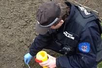 Znojemští strážníci uklízeli rekordní počet injekčních stříkaček.