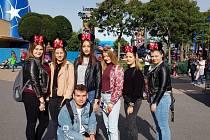 Studenti z Přímky vyrazili do Paříže. Foto: archiv školy