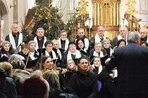 Vánoční koncert v Moravském Krumlově.
