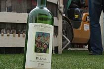 PO ROCE. Loni šlapaly dívky v kádi hrozny na víno, které  letos  mohou zájemci ochutnat.