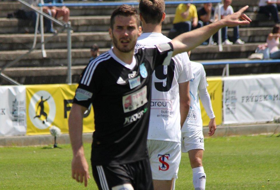 Fotbalista Jakub Teplý.
