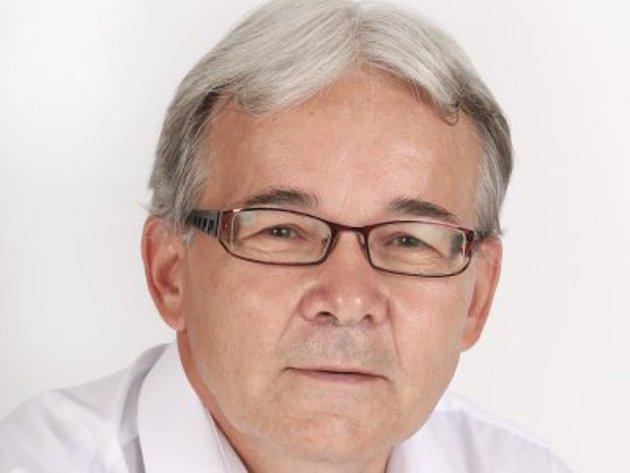 Předseda ČUS Znojmo Zdeněk Kolesa.