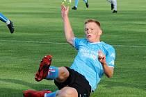 Tomáš Vocílka dostal v 17 letech šanci hrát za A-tým Znojma.