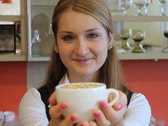 Den kávy, který připadá na 1. října, oslavili i na znojemské střední odborné škole na Přímětické.