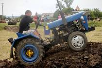 Druhý ročník Traktoriády pořádali nadšenci v Dyjákovičkách.