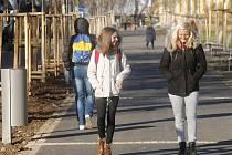 Dolní park ve Znojmě je od pondělí opět otevřený pro veřejnost.
