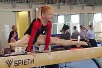 Znojemské gymnastky vybojovaly na závodech v maďarském Györu osm medailí.