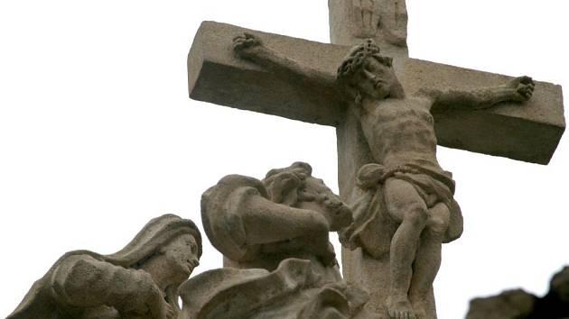 Kalvárie ve Znojmě v Karolíniných sadech