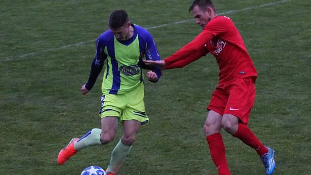 Tasovický Sokol porazil doma Lanžhot. Utkání rozhodla penalta ze začátku utkání